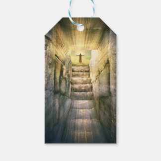 Jesus at Empty Tomb Easter Resurrection Gift Tags