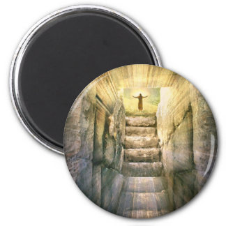 Jesus at Empty Tomb Easter Resurrection Magnet