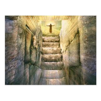 Jesus at Empty Tomb Easter Resurrection Postcard