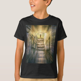 Jesus at Empty Tomb Easter Resurrection T-Shirt