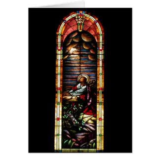 Jesus at Gethsemane Card