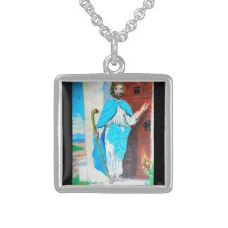 JESUS AT THE DOOR necklace