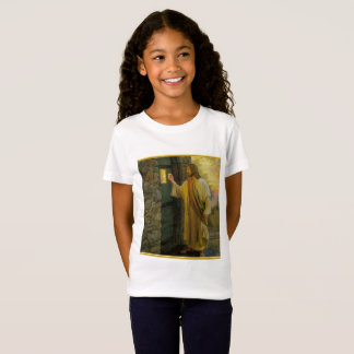 Jesus At Your Door with a gold foil design T-Shirt