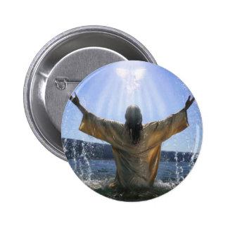 Jesus Baptism Buttons