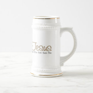 Jesus Beer Stein By Zazz_it