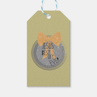 Jesus Best Gift Ever Gift Tags