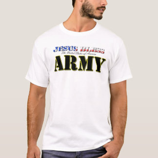 Jesus Bless America's Army T-Shirt