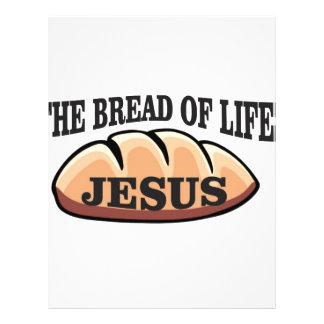 jesus bread of life letterhead
