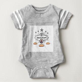 Jesus bread of life logo baby bodysuit