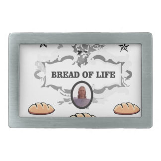 Jesus bread of life logo belt buckles