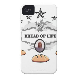 Jesus bread of life logo iPhone 4 cover