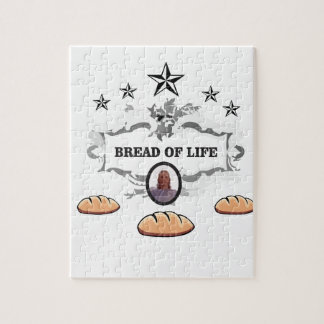Jesus bread of life logo jigsaw puzzle