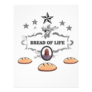Jesus bread of life logo letterhead