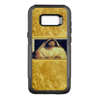 Jesus Breaking Bread Gold And Black texture OtterBox Commuter Samsung Galaxy S8+ Case