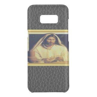 Jesus Breaking Bread Gold And Black texture Uncommon Samsung Galaxy S8 Plus Case