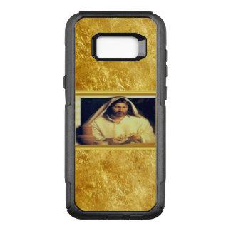 Jesus breaking bread matthew 14-13 Gold texture OtterBox Commuter Samsung Galaxy S8+ Case