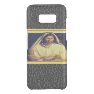 Jesus breaking bread matthew 14-13 Gold texture Uncommon Samsung Galaxy S8 Plus Case
