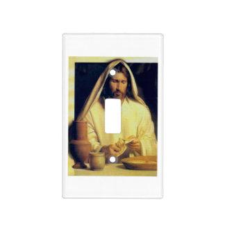 Jesus Breaking Bread Vintage Light Switch Cover