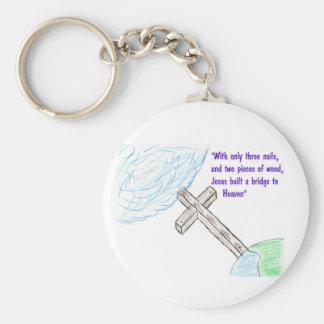 Jesus bridge keychain