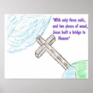 Jesus bridge poster