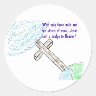 Jesus bridge stickers