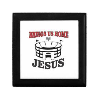 Jesus brings us home gift box