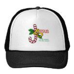 Jesus Candy Cane Legend Baseball Hat