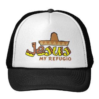 Jesus cap my I take refuge Trucker Hat