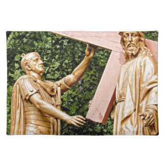 Jesus Carries Cross Placemat