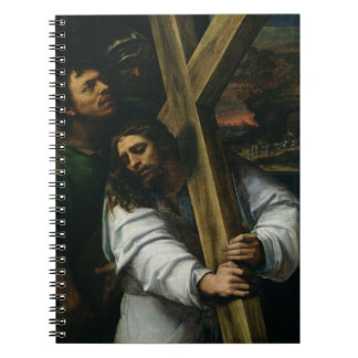 Jesus Carrying the Cross, c.1535 (oil on panel) Notebook