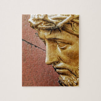 Jesus carrying the cross jigsaw puzzle