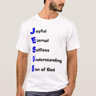 Jesus Christ Acronym T-Shirt