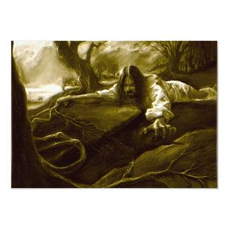 Jesus Christ Agony in the Garden of Gethsemane Card