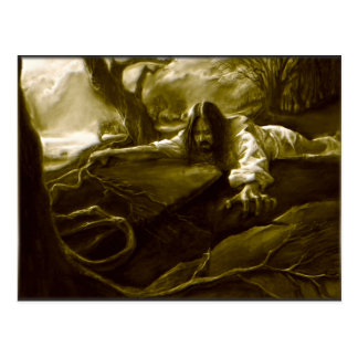 Jesus Christ Agony in the Garden of Gethsemane Postcard