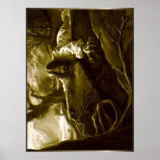 Jesus Christ Agony in the Garden of Gethsemane Poster