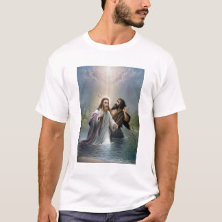 Jesus Christ Baptism by John the Baptist T-Shirt
