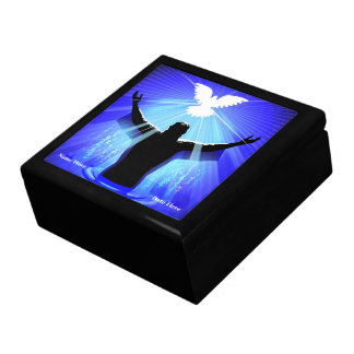 JESUS CHRIST BAPTISM & DOVE BOX