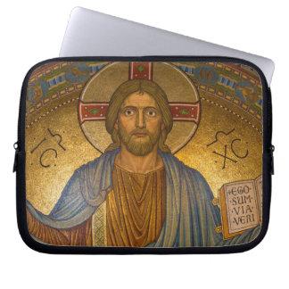 Jesus Christ - Beautiful Christian Artwork Computer Sleeve