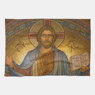 Jesus Christ - Beautiful Christian Artwork Kitchen Towel