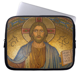 Jesus Christ - Beautiful Christian Artwork Laptop Sleeve