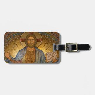 Jesus Christ - Beautiful Christian Artwork Luggage Tag