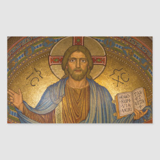 Jesus Christ - Beautiful Christian Artwork Sticker