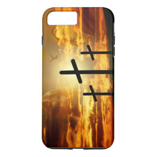 Jesus Christ Blessed Virgin Mary Dove Calvery iPhone 7 Plus Case