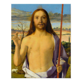 Jesus Christ Blessing Poster A