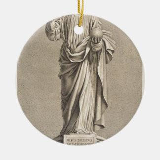 Jesus Christ Ceramic Ornament