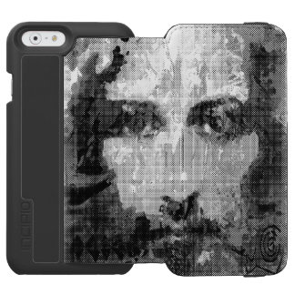 Jesus Christ Collage halftone black + your ideas Incipio Watson™ iPhone 6 Wallet Case
