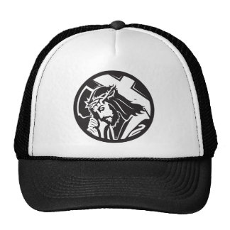 Jesus Christ  Cross Icon Trucker Hat