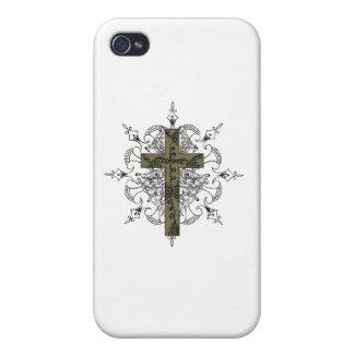 Jesus Christ Cross iPhone 4/4S Case