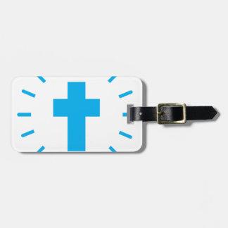 Jesus Christ Cross Luggage Tag