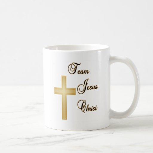 Jésus-Christ d'équipe Mug À Café